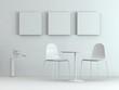 Modell - Stühle und Tisch