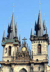 Church of Our Lady in front of Tyn in Prague