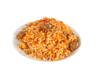 pilaf isolated