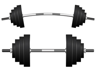 weights against white
