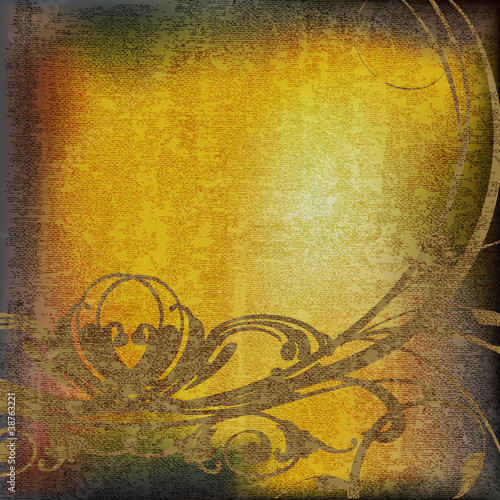 Abstract Vintage Parchment Background