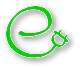Logo grüner Strom / Ökostrom