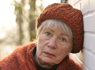 Depressed Senior Woman 1
