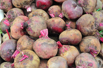 Beetroot  For Sale At A Store