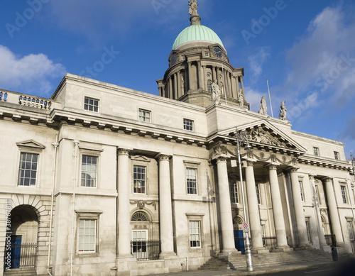 The Customs House in Dublin City Ireland