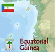 equatorial guinea map flag emblem