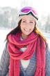 happy smiling winter beauty
