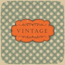Polka dot design, vintage, stylu tła.