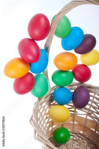Flying Easter eggs