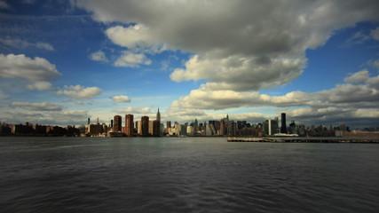 New York City Skyline Time Lapse