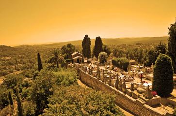 Saint Paul de Vence, Provenza - il cimitero