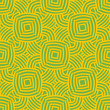 abstract yellow and green seamless pattern