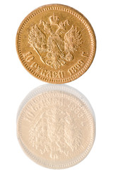 Coin of pure gold