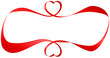 Red Blank Love Ribbon