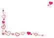 Herzchen Rahmen Liebe Motiv