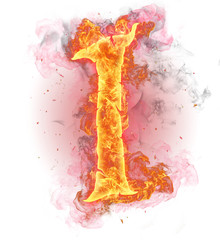 """FIre number """"1"""""""