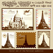 Vector set: symbols of Paris