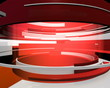 3D Motion Graphic Curves Abstract Animation