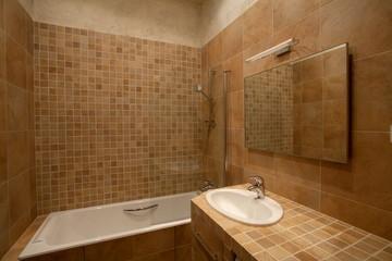 fragment of bathroom interior