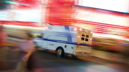 Ambulance in Las Vegas