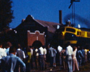 Locomotive Train (Archival 1950s)