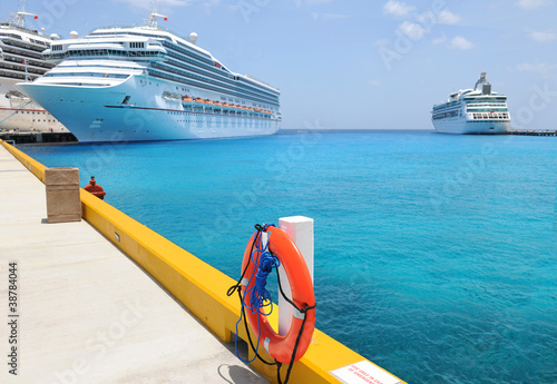 Cruise Ships in Tropical Waters