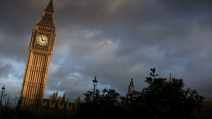 Big Ben Clock Tower (London, England)