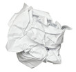 paper ball crumpled garbage frustration