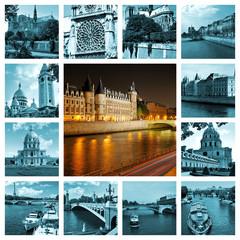 Beautiful photos of the river Seine in Paris