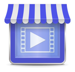 Video Shop Button