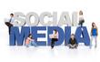 3D Social media