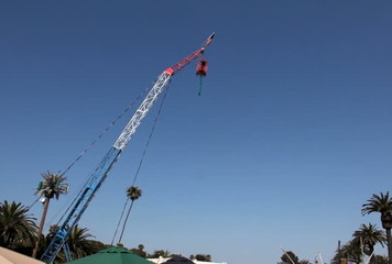 Bungee Jumper at the Carnival