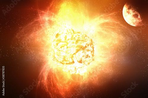 explosion soleil - 38787835