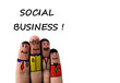 Social Business People