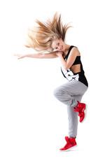 Hip-Hop Tänzerin