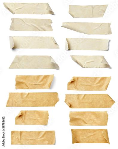 Leinwanddruck Bild adhesive tape