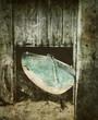 old windsurfing board