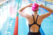 woman on start of swimming - 38789869