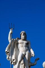 Fontana del Nettuno, Piazza del Popolo, Roma