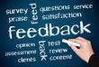 feedback - english concept