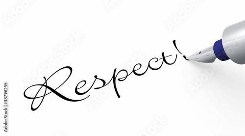 Stift Konzept - Respect!