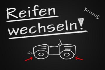 Reifen wechseln  #120207-001