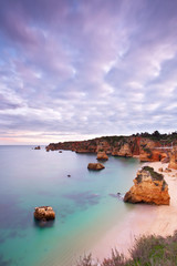 Praia da D. Ana, Lagos, Algarve, Portugal