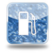 Fuel Station Glossy Button