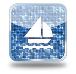 Sail Glossy Button