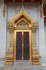 church door thai temple