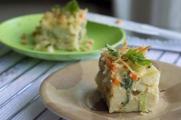 baked vegetables macaroni