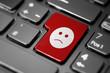 Unhappy Face Button