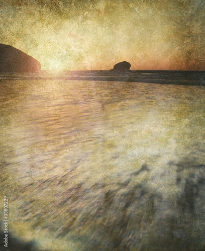 old ocean photo