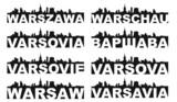 Fototapety Warsaw skyline